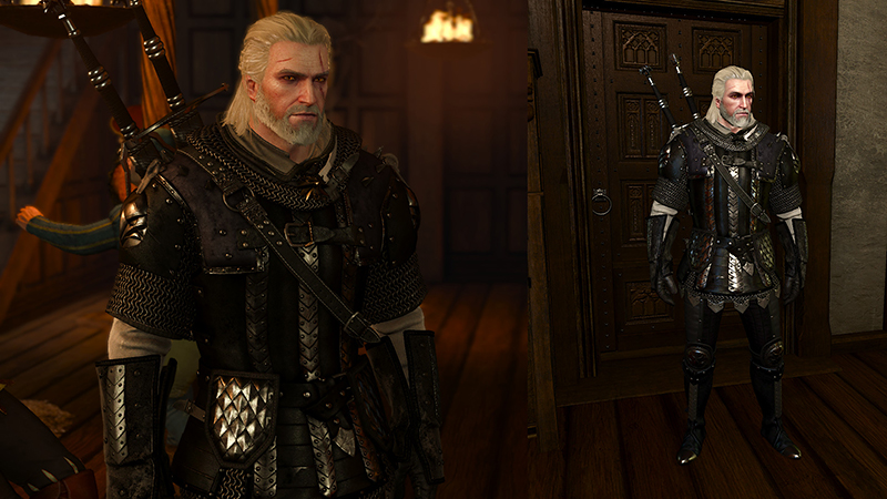 Griffin Set Redesign At The Witcher 3 Nexus Mods And Community